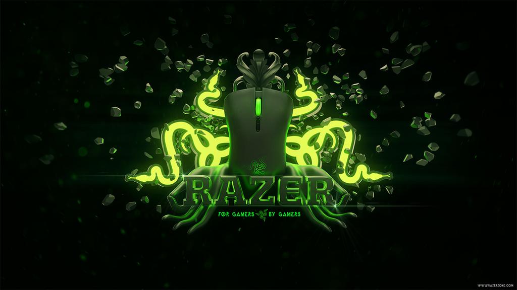 Razer Gaming wallpaper by MixMyPhotoshop