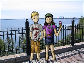 Walking in Duluth by umhermione