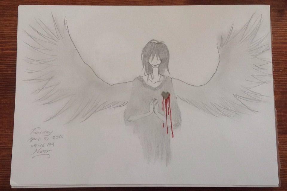 Fallen Angel by embracing-solitude