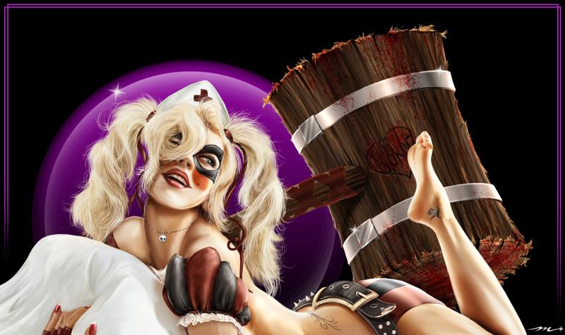 Harley Quinn by MookFall