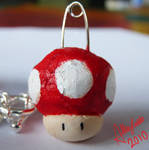 Toad or Speed Charm by AlleyCatto