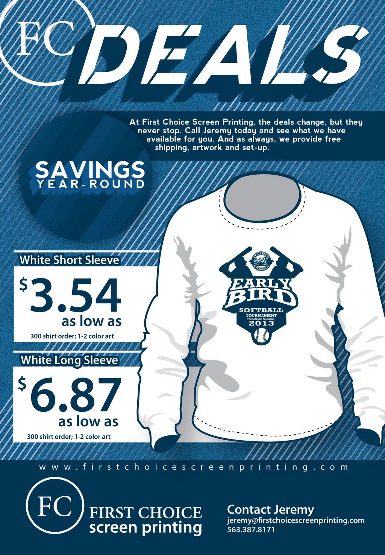 T Shirt Design Contest Flyer Free Download