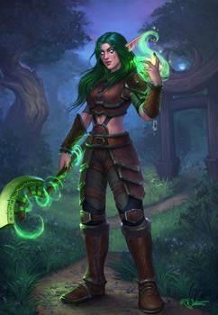 Kayeri the Night Elf Druid