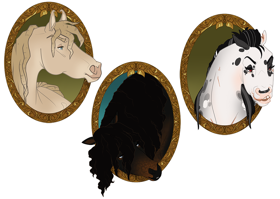 CW | Forum Avatar Headshots by pony-bones