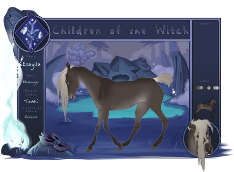 ToW | Esagila | Children of the Witch | Messenger