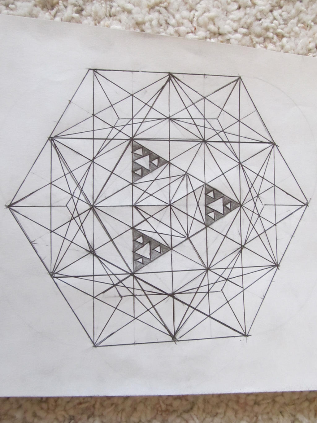 Cube octahedron by pureuniversalflow