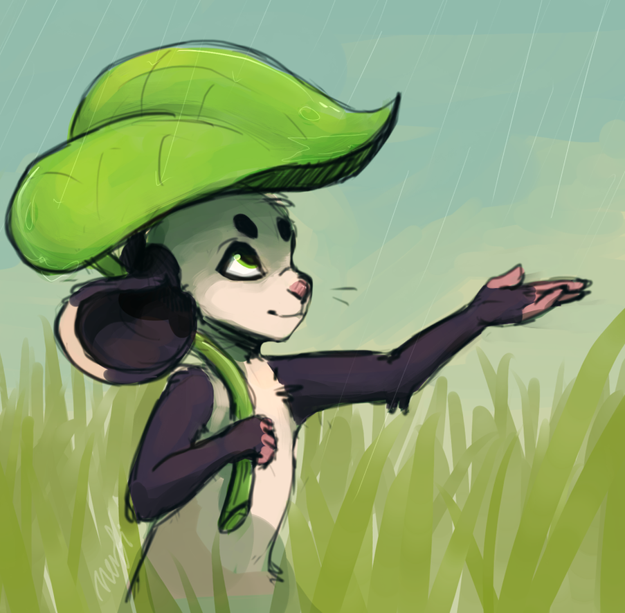 rain by nerfusia