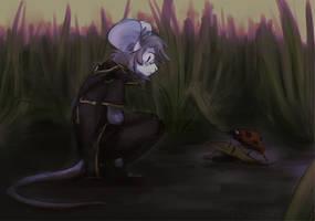 strange turtle by nerfusia