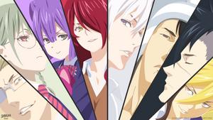 Elite Ten Council - Shokugeki No Soma by shibuyawarrior
