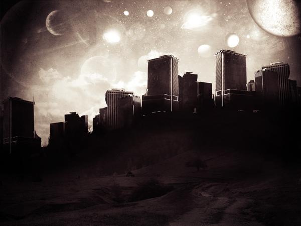 The Dream City by Pieter-De-Wolf