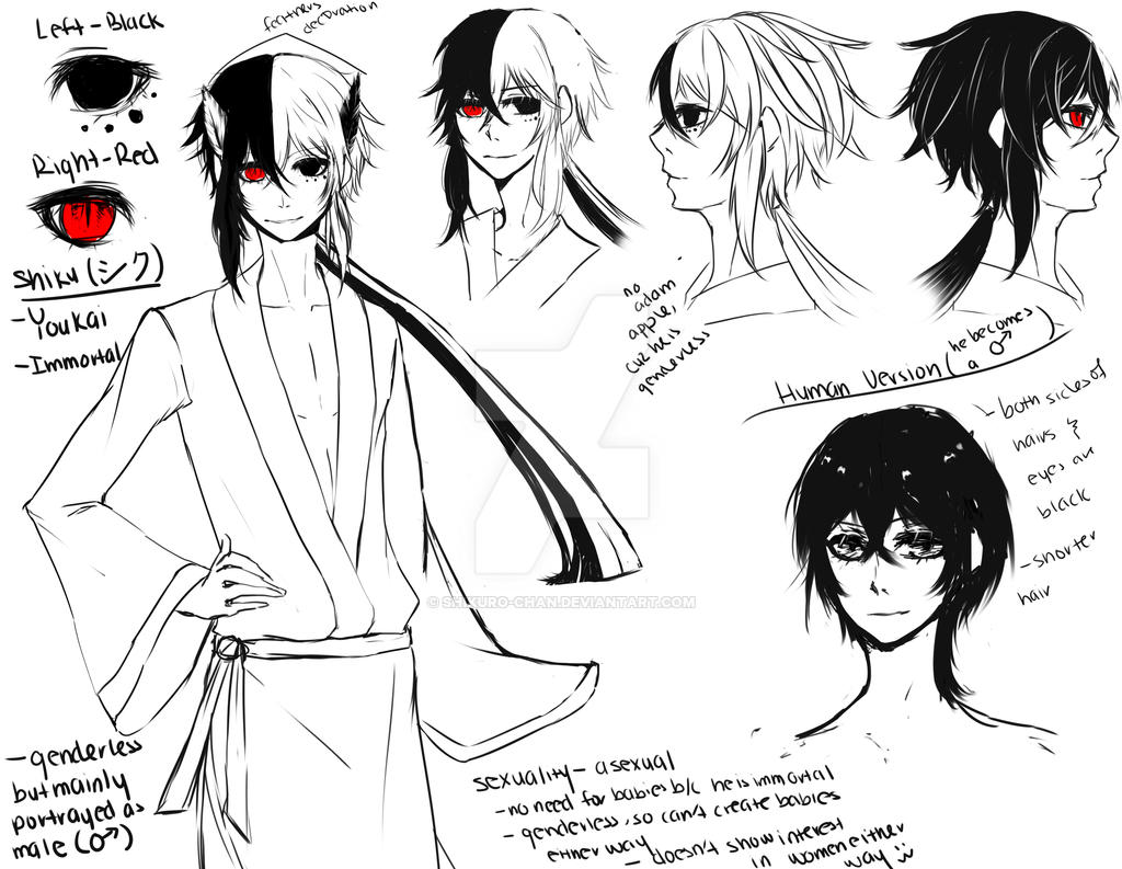 Character Design Oc : Oc shiku character design by shikuro chan on deviantart