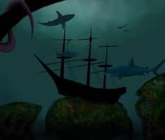 Sunken Shipwreck 02