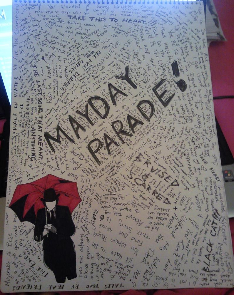 Mayday Parade, Part 2 by celeste1528