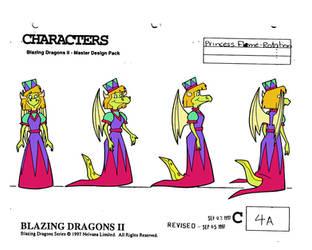 Princess Flame (season 2) turnaround by cheril59