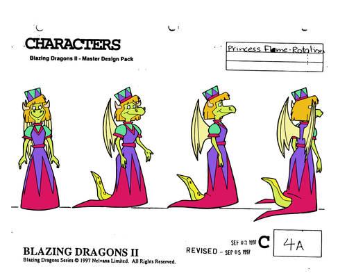 Princess Flame (season 2) turnaround