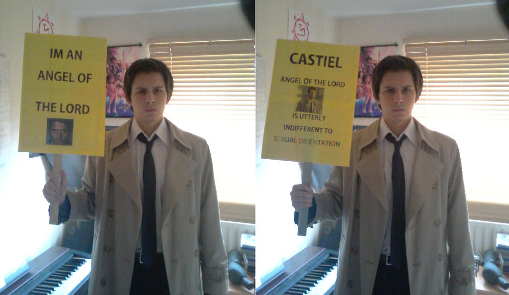 Castiel is indifferent by TheNaitsyrk