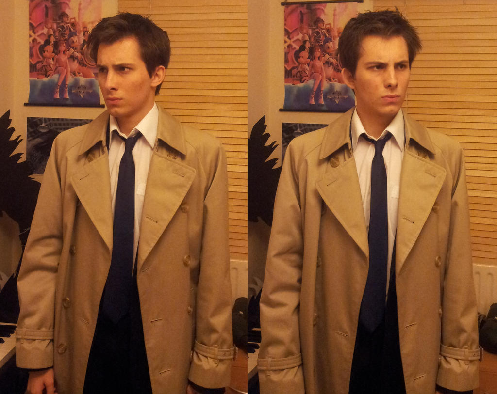 Castiel haircut by TheNaitsyrk
