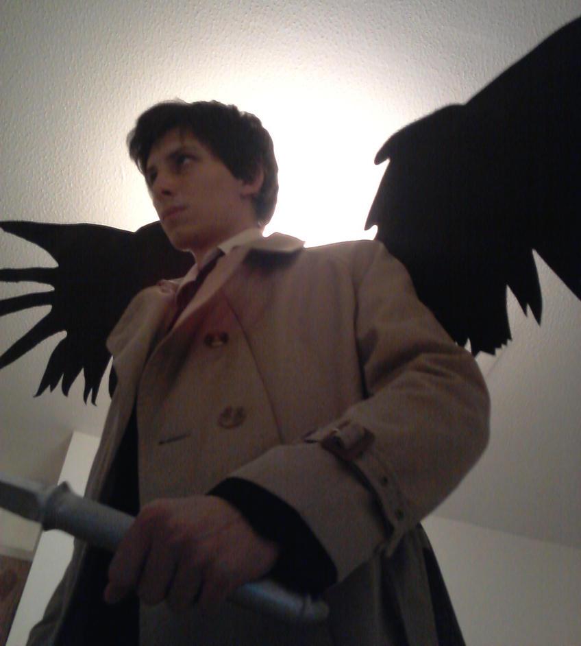 Castiel Wings Progress - Step 1 by TheNaitsyrk