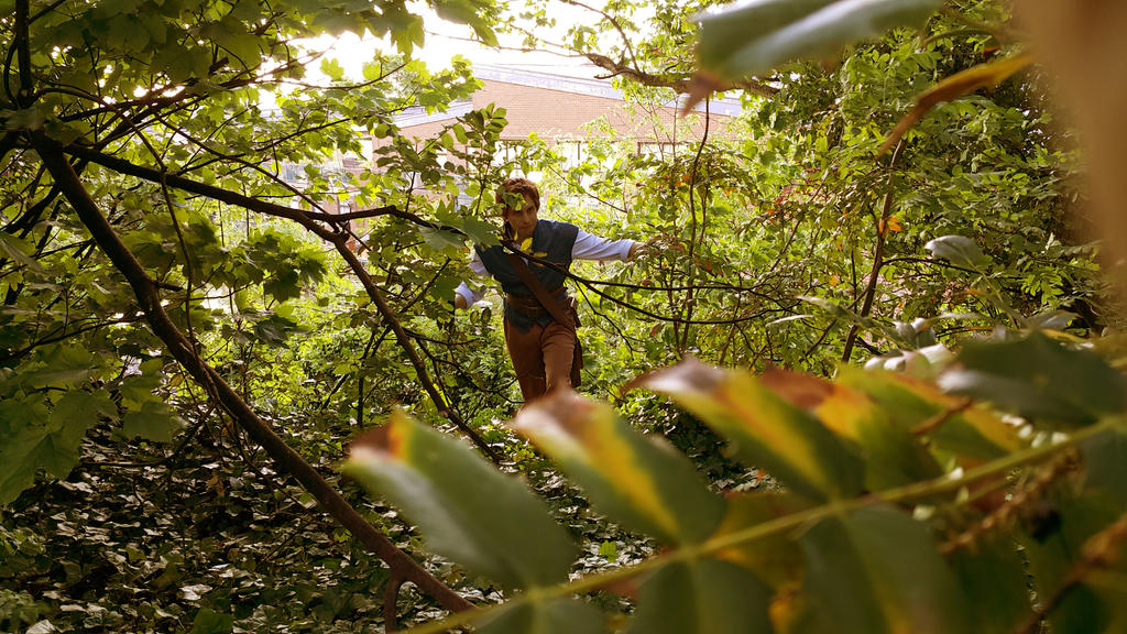 Tangled - Woods by TheNaitsyrk