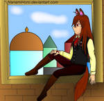 Horo - Looking on my city coloured