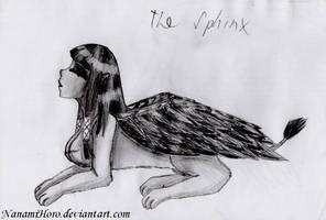 The Sphinx by NanamiHoro