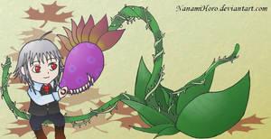 Pet carnivorous plant by NanamiHoro