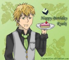 Happy Birthday Ryuki by NanamiHoro