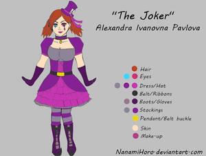 The Joker reference sheet