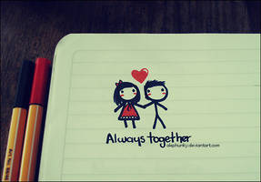 Always together by Alephunky