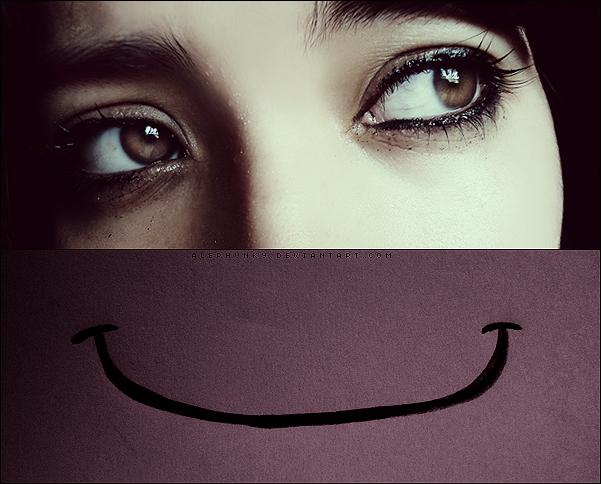 Fake a smile by Alephunky