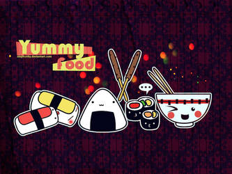 Yummy Food - Wallpaper by Alephunky