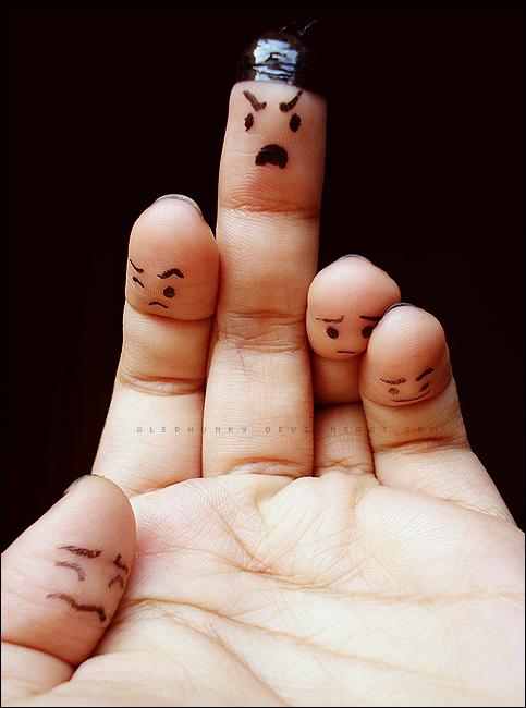Bad finger