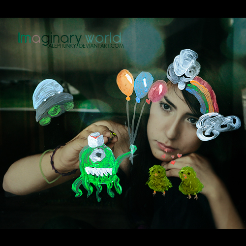 Imaginary world by Alephunky
