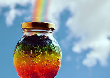 Under the Rainbow by Alephunky