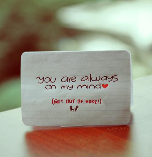 Dear love by Alephunky