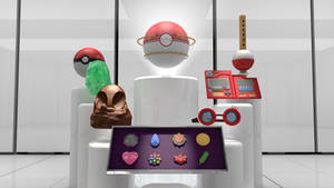 Pokemon 1st Generation Items by PixelPandaa