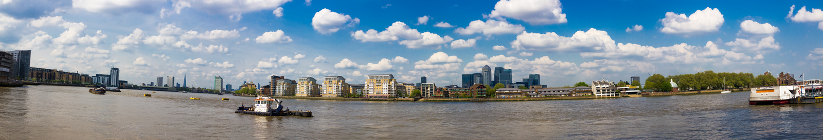 Greenwich Riverside by PixelPandaa