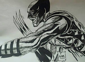 My Wolverine drawing!