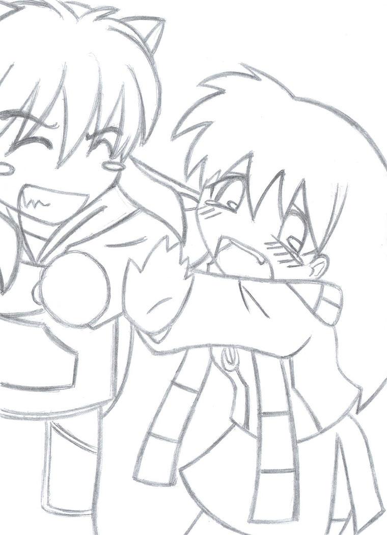 Fantástico Anime Para Colorear Chibi Ilustración - Dibujos Para ...
