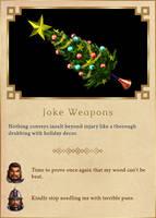 Joke Weapons