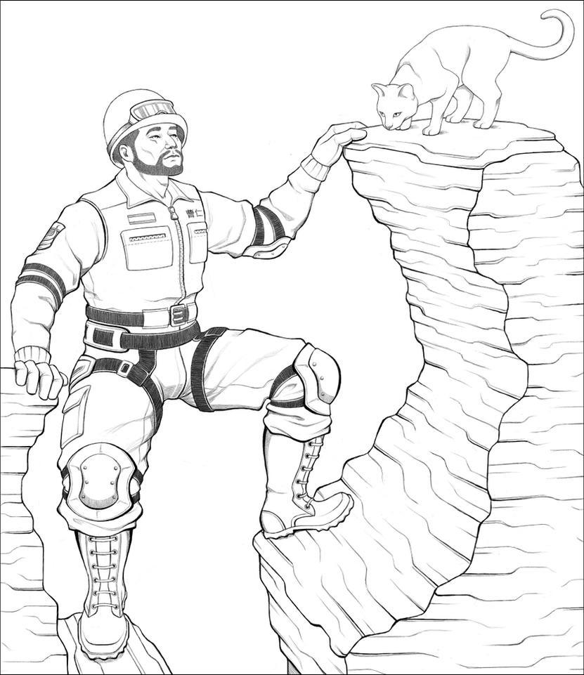 Precarious Perch by Rydain