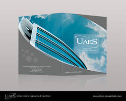 UAES Brochure Cover by imcreative