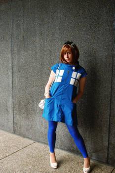 Blue Box Dress