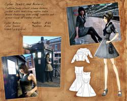 Cyber Dress look layout by Tess-san