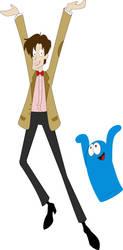 Imaginary Friend Dance by Tess-san