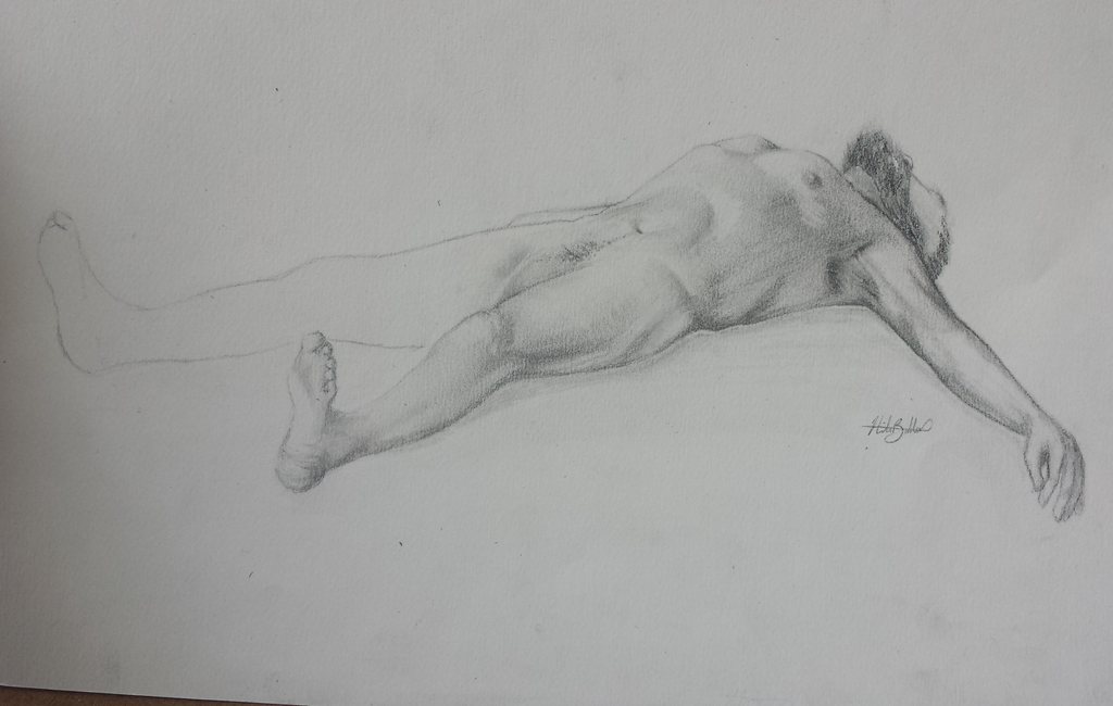 Life drawing study by FallingReverse