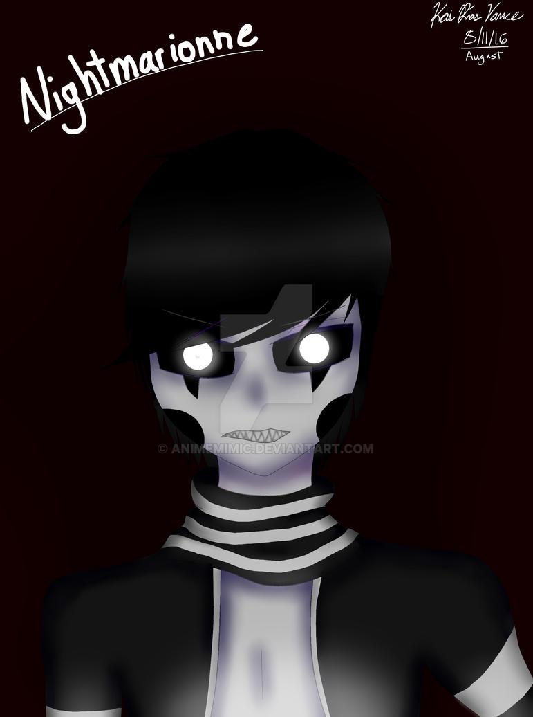 FNaF 4: Halloween Update} Nightmarionne by animeMIMIC on DeviantArt