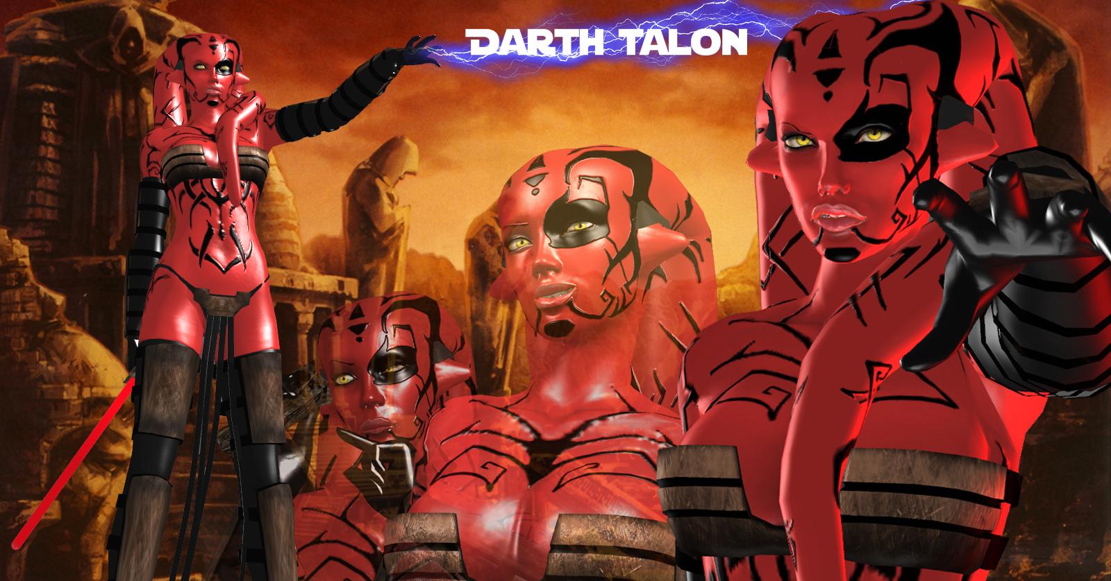 Darth Talon for XNALara/XPS