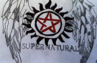 Supernatural Wings by welovejensenackles