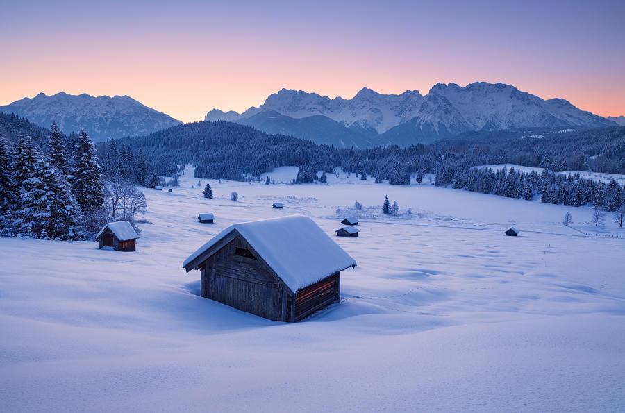 Frozen Dawn by mibreit
